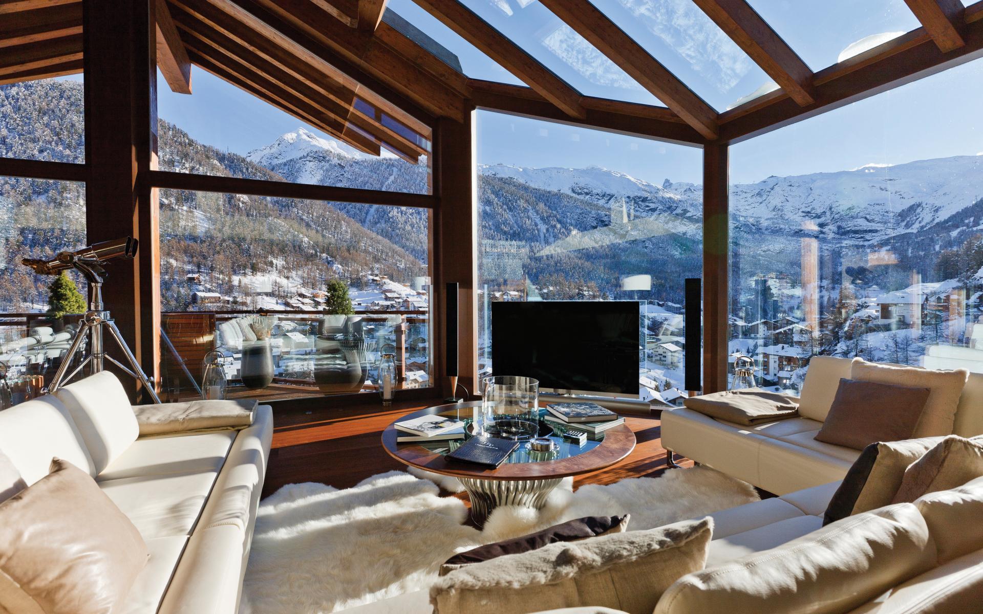 Chalet traum in zermatt stilpalast for Villa d arte interior design home collection