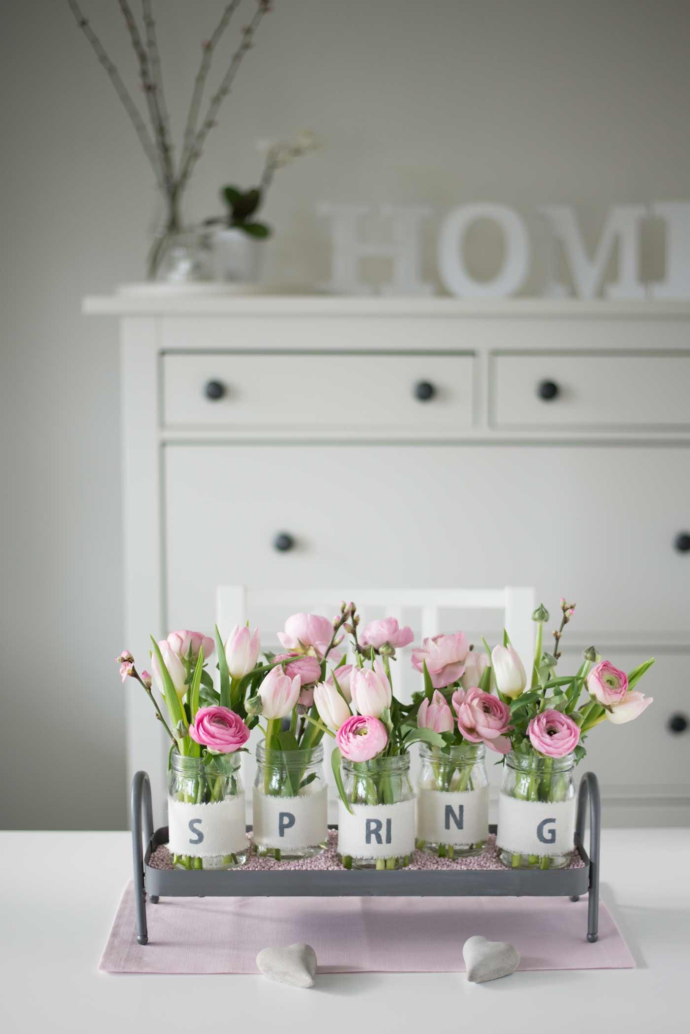 Dekoration Mit Fruhlingsblumen Ideen Und Inspirationen