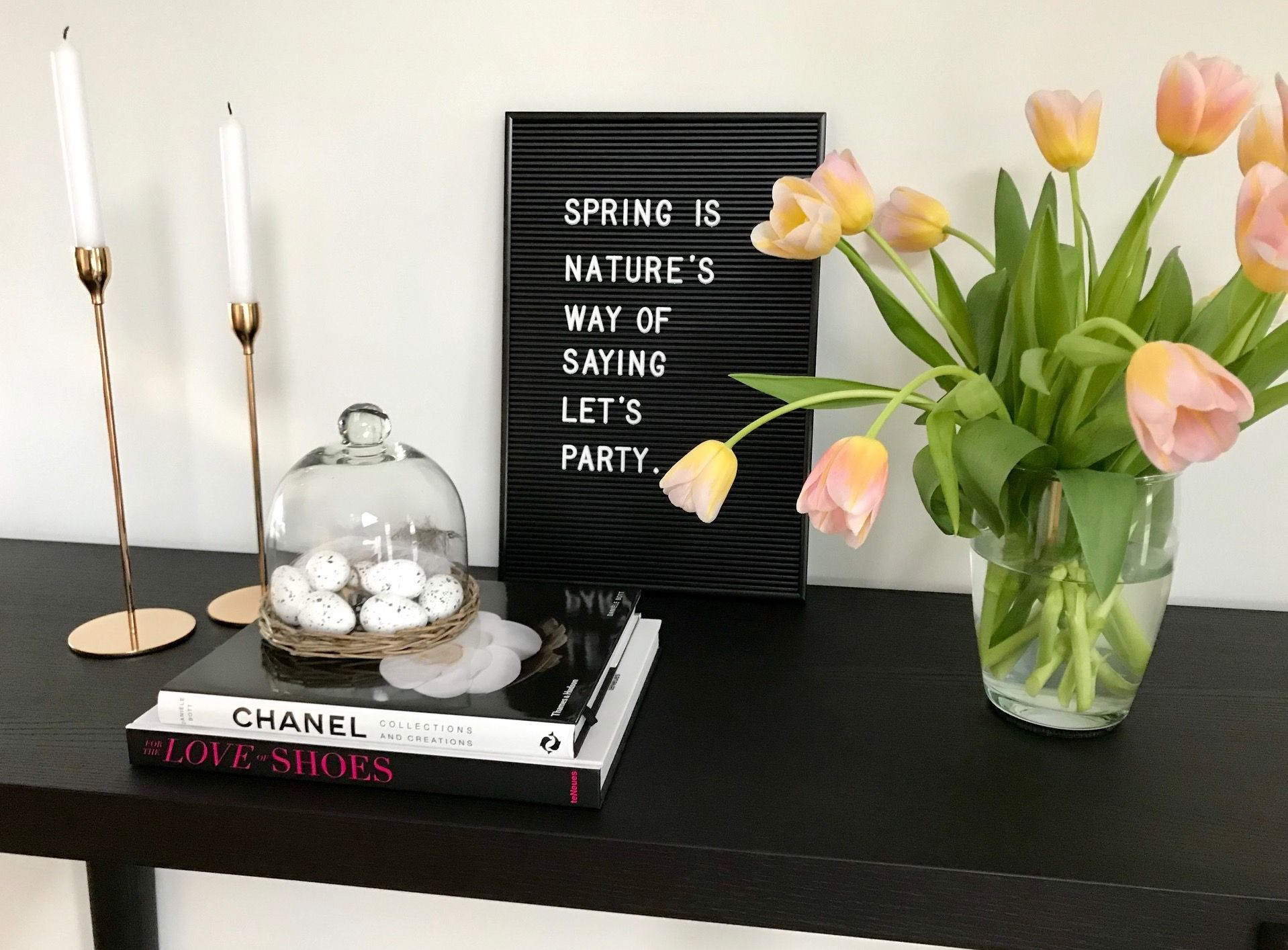 deko trend 2019 letter boards stilpalast. Black Bedroom Furniture Sets. Home Design Ideas