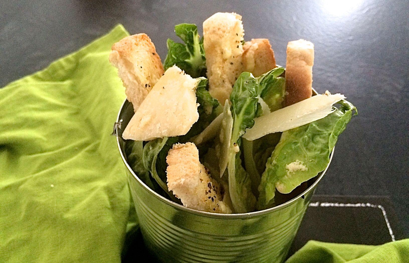 caesar salad nach us originalrezept. Black Bedroom Furniture Sets. Home Design Ideas