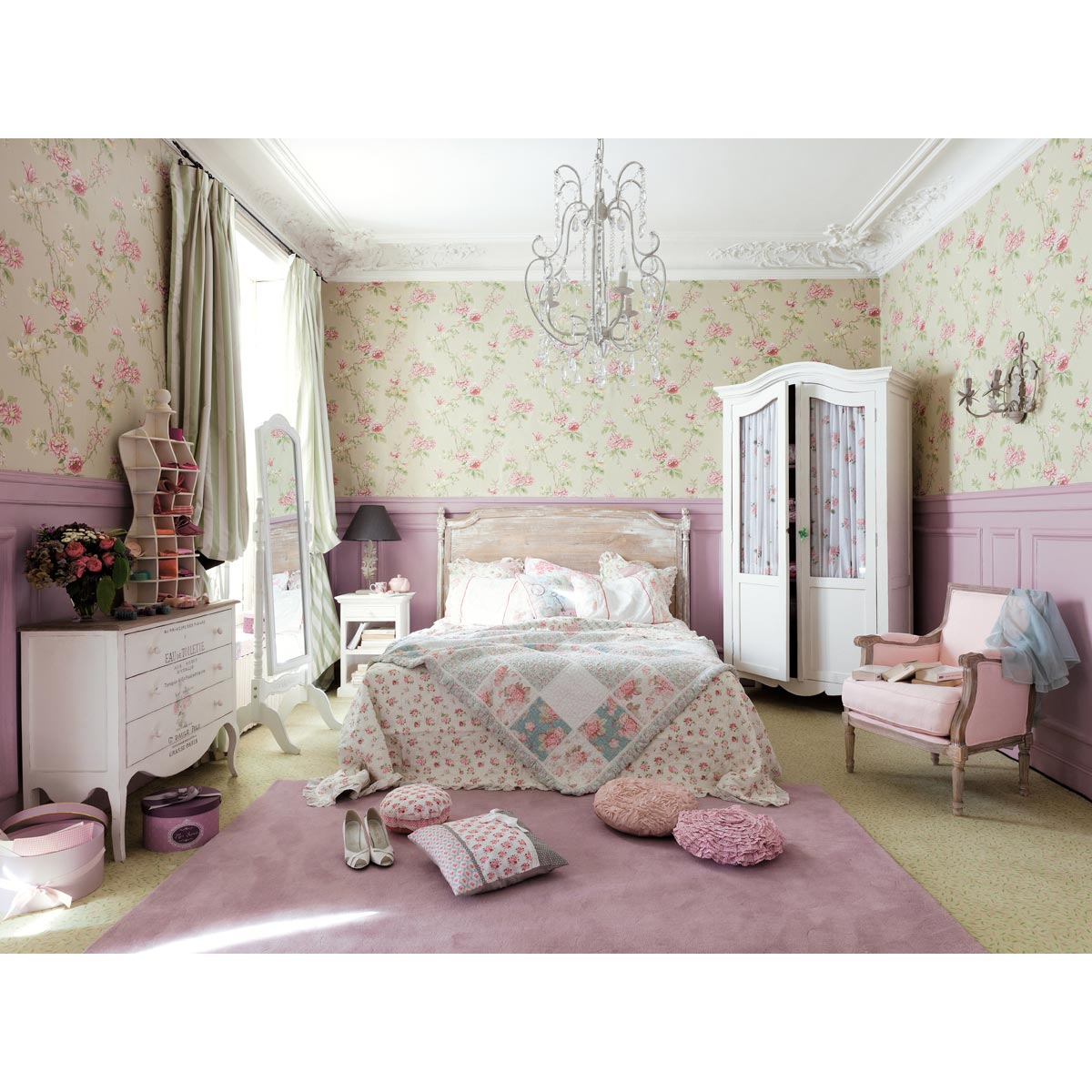 shabby chic stilpalast. Black Bedroom Furniture Sets. Home Design Ideas