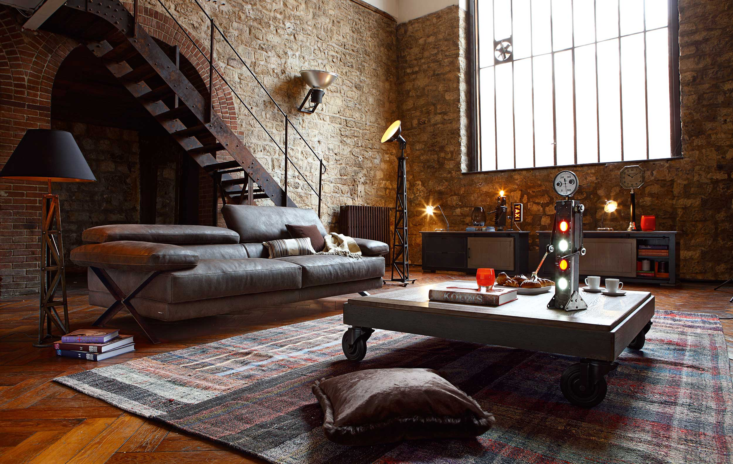 Bezaubernd Industrial Style Wohnen Ideen Von