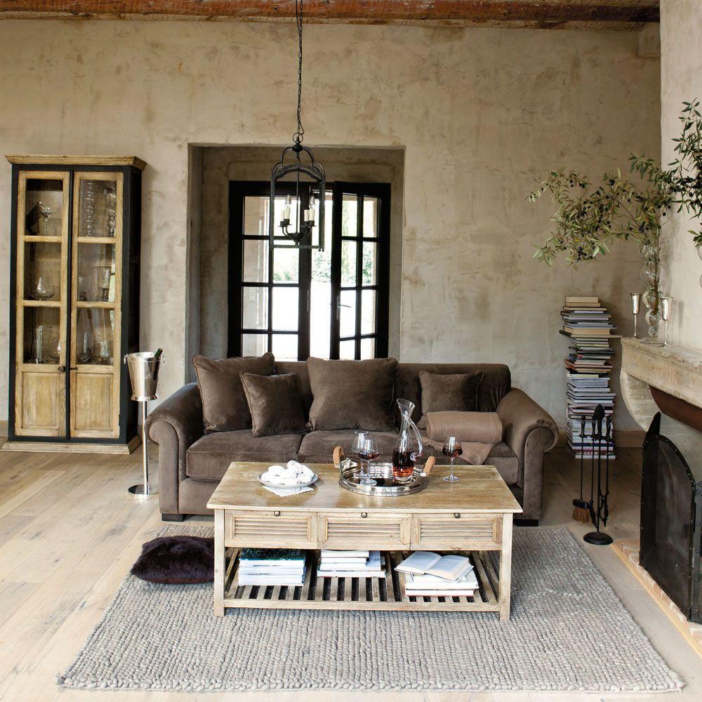 Mediterraner wohn stil stilpalast for Scrivania maison du monde