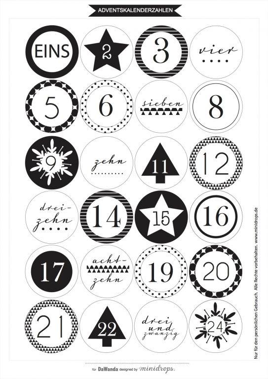 12 Ideen Für Diy Adventskalender