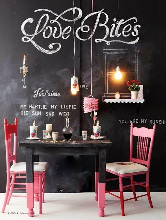 Tafel Farbe coole ideen mit tafelfarbe stilpalast