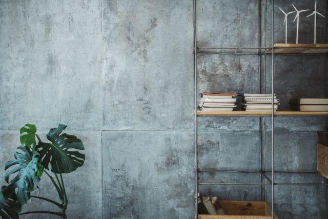 sch ner wohnen in beton optik stilpalast. Black Bedroom Furniture Sets. Home Design Ideas