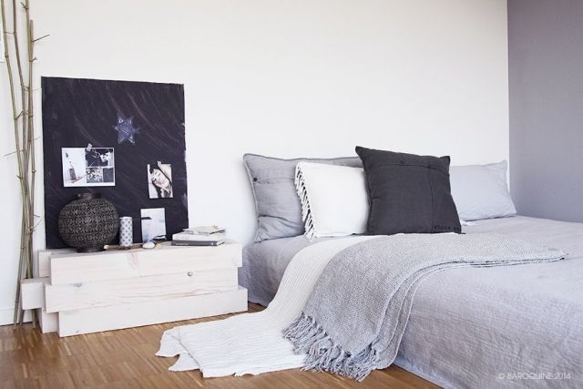 coole ideen f r nachttische stilpalast. Black Bedroom Furniture Sets. Home Design Ideas