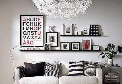 bilder aufh ngen tipps und tricks. Black Bedroom Furniture Sets. Home Design Ideas