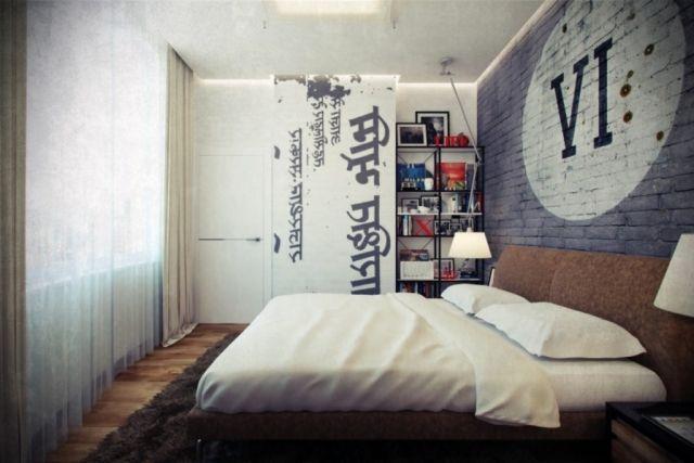 stylische m nner schlafzimmer stilpalast. Black Bedroom Furniture Sets. Home Design Ideas