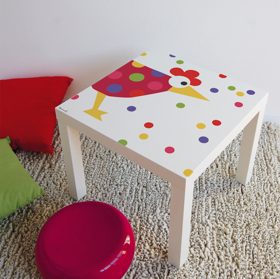 Ikea hacks f r tisch lack - Tavolini per bambini disney ...