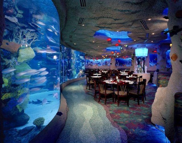 imposante unterwasser restaurants. Black Bedroom Furniture Sets. Home Design Ideas