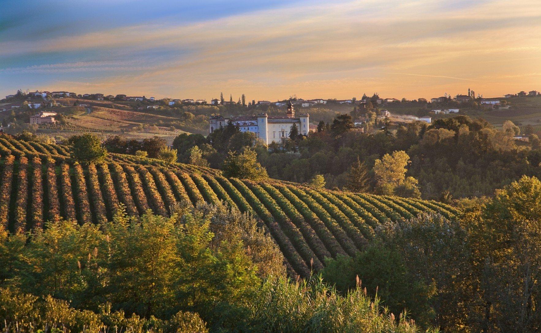 Herbst im Piemont