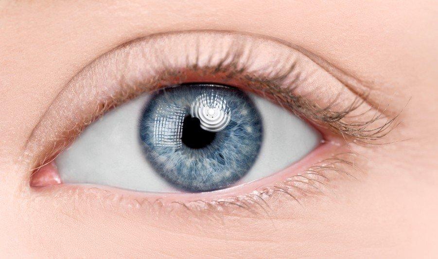 Augen Blau Lasern Lassen