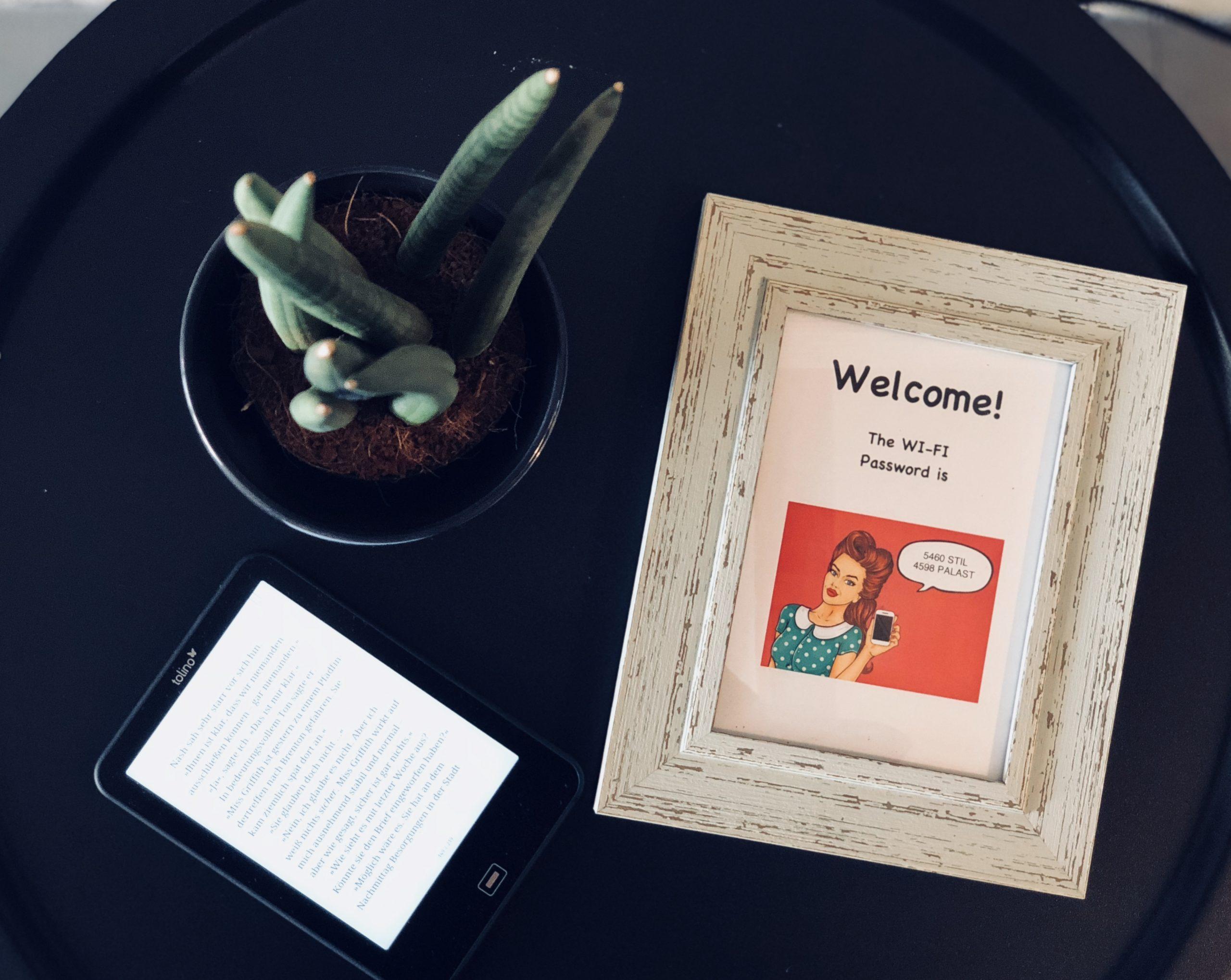 WI-FI-Passwort-Bilder für Gäste