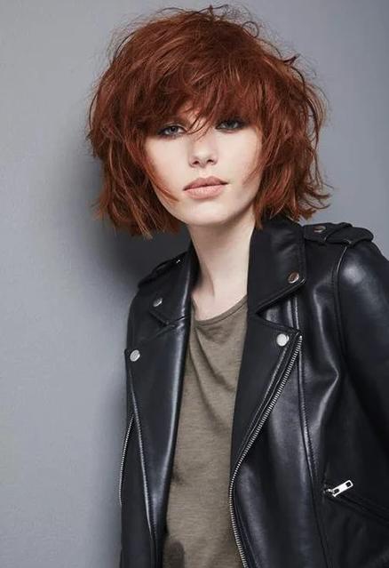 Haare sehr rot kurze Kurze Rote