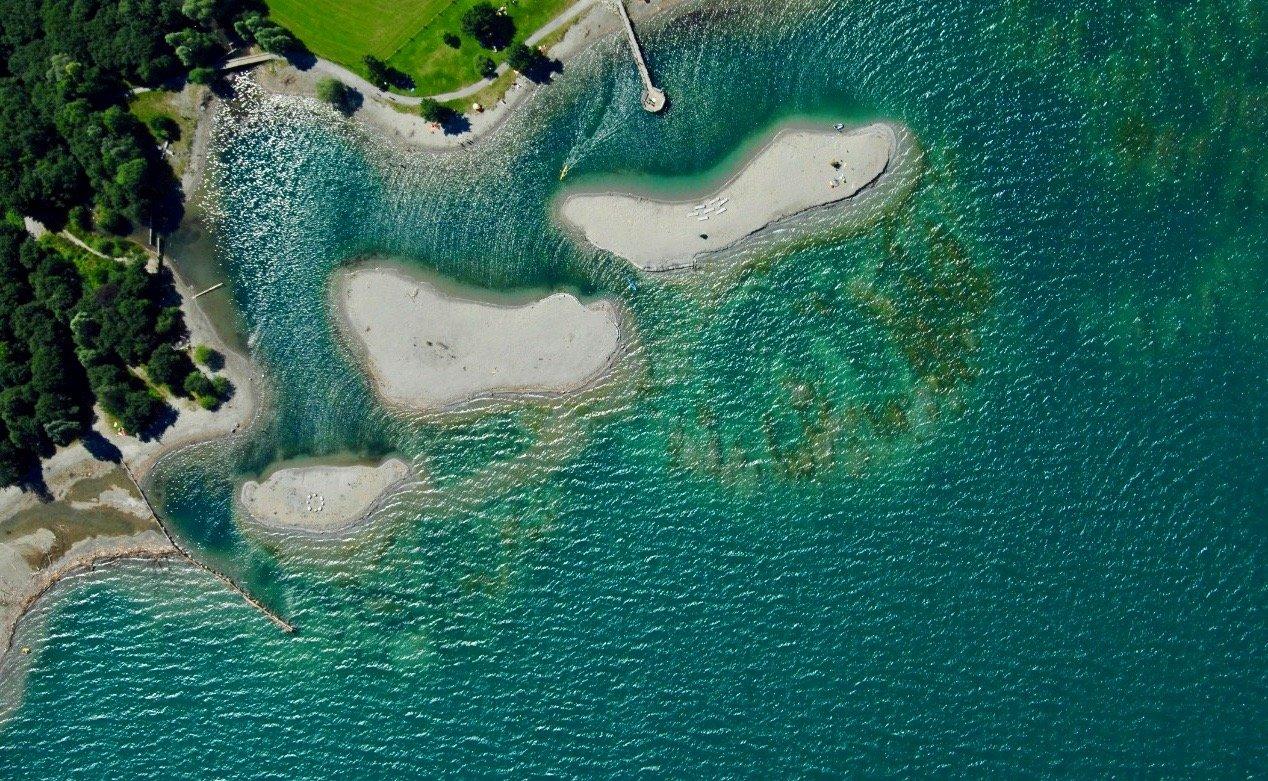 Traumhafte Schweizer Inselparadiese
