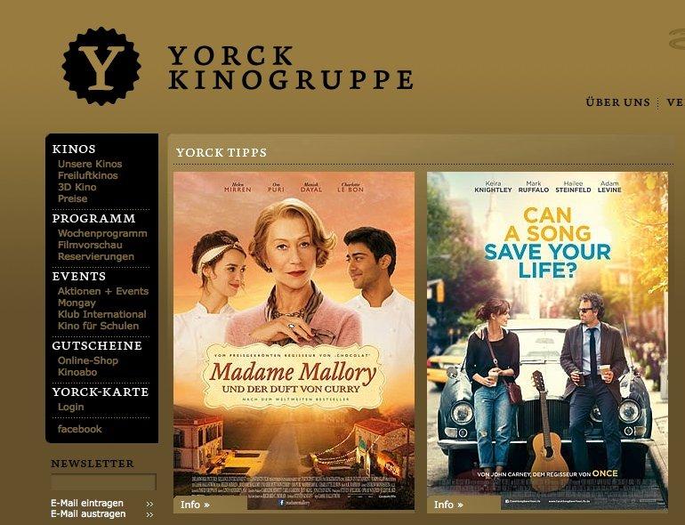 Empfehlenswerte Filme Liste