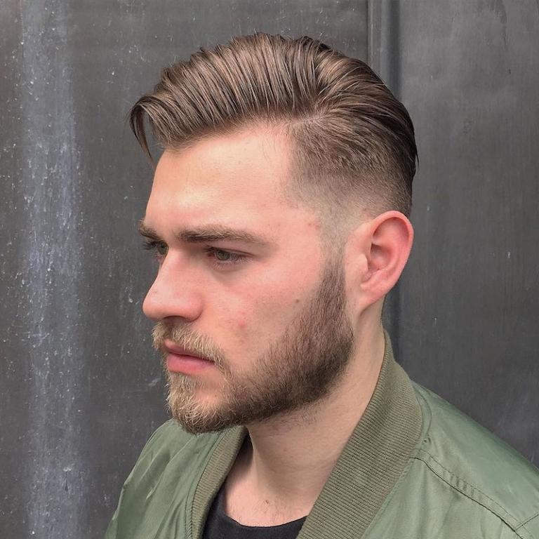 Kurz frisuren männer seitenscheitel Kurze Haare