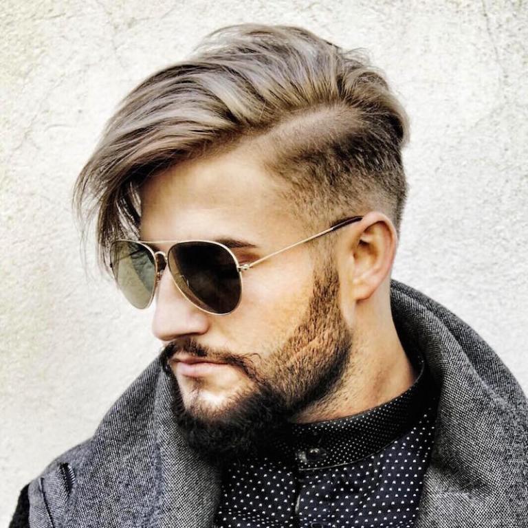 Frisur kurz männer seitenscheitel ▷ Infos