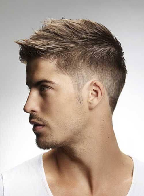 Kurz frisuren männer seitenscheitel Männerfrisuren Kurz