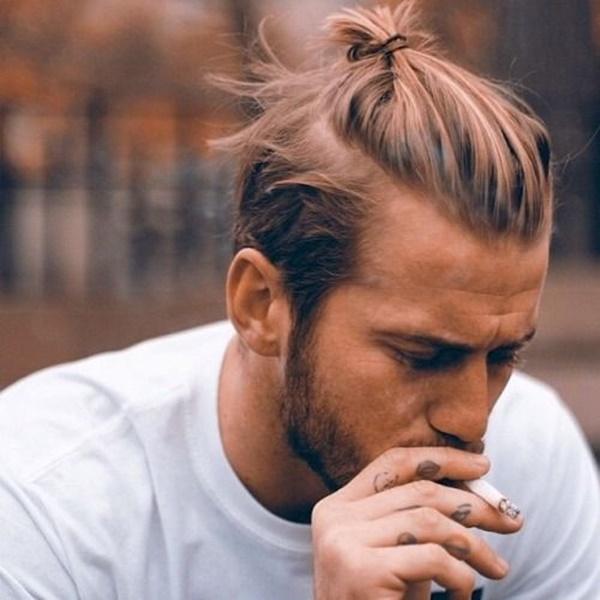 Männer haare sidecut lange Männer Sidecut