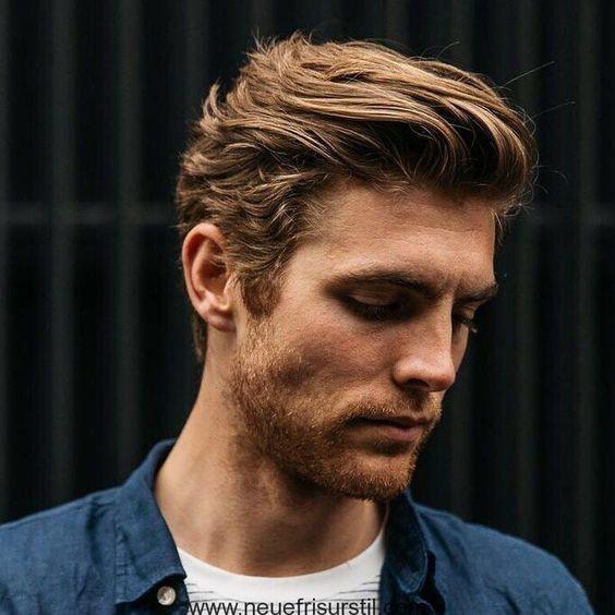 Frisur kurz männer seitenscheitel Kurzhaar Seitenscheitel
