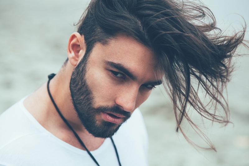 Jungs mittellange haare Haare Stylen