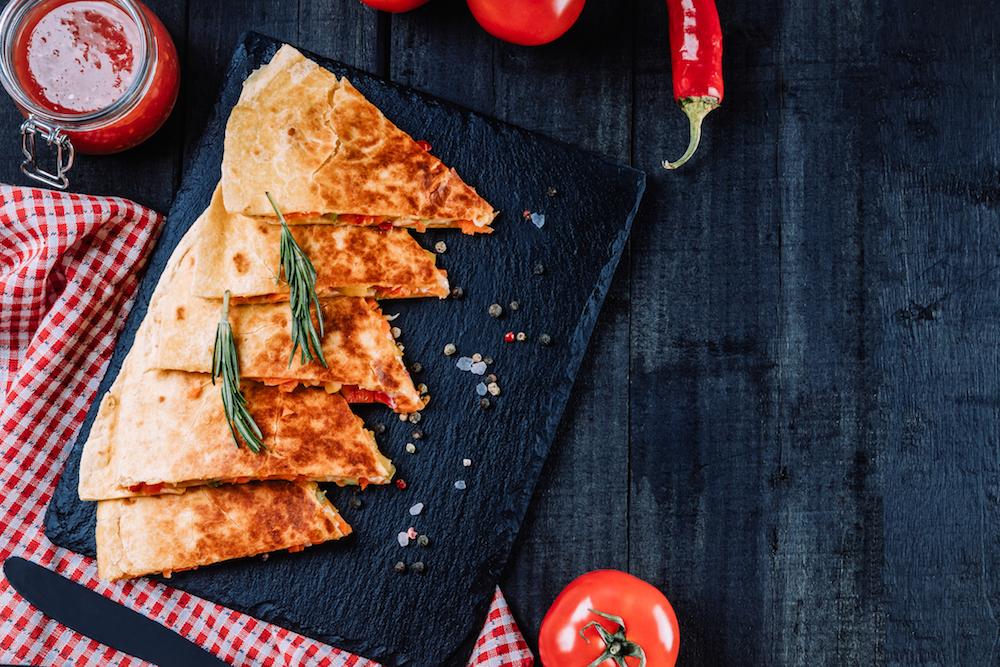 Viraler Food-Hit: leckere Blitz-Quesadillas