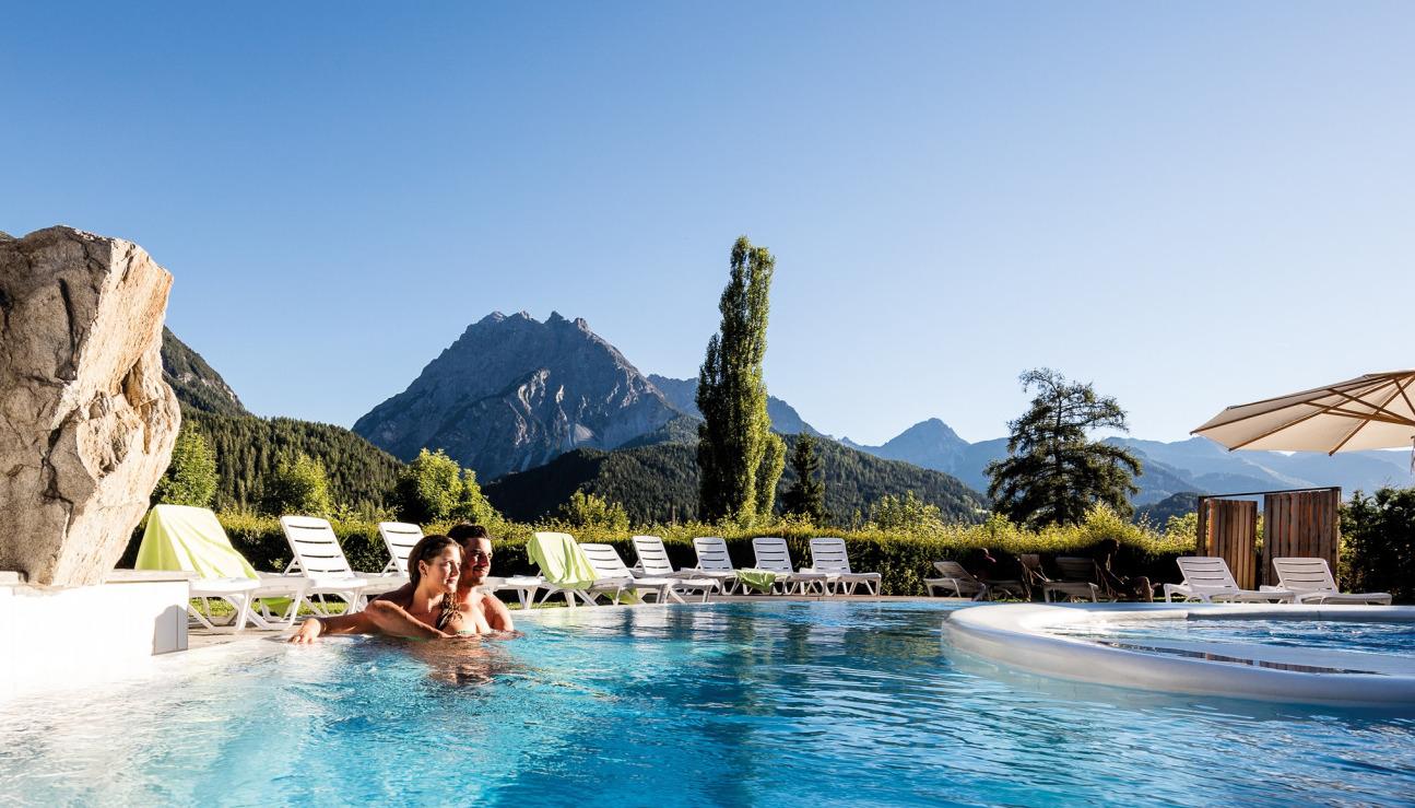 Auszeit in Bündner Badehotel zu gewinnen
