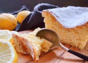 Feuchter Zitronenkuchen ohne Butter und Mehl