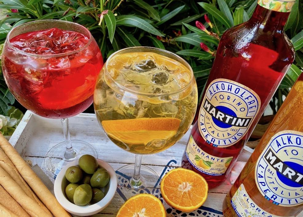 Alkoholfreie Trend-Aperitifs mit 100% Geschmack