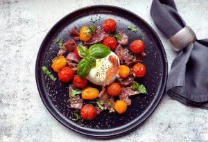 Sommer-Hit aus Florenz: warmer Burratasalat