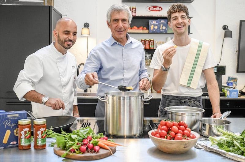 Die Pasta-Tricks eines italienischen Starkochs