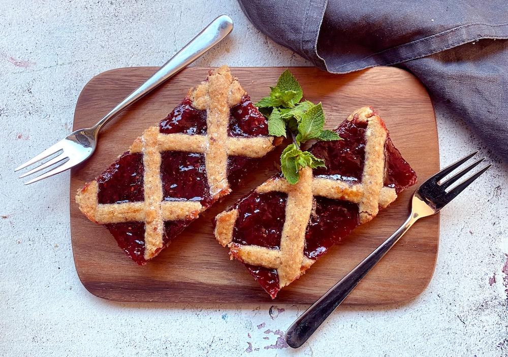 Einfach & köstlich: Linzer-Blechkuchen als Party-Hit